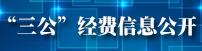 """""""三公""""经费信息公开"""